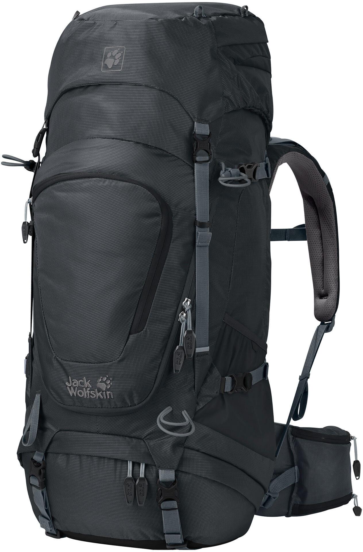 jack wolfskin highland trail xt 45 backpack damen phantom. Black Bedroom Furniture Sets. Home Design Ideas